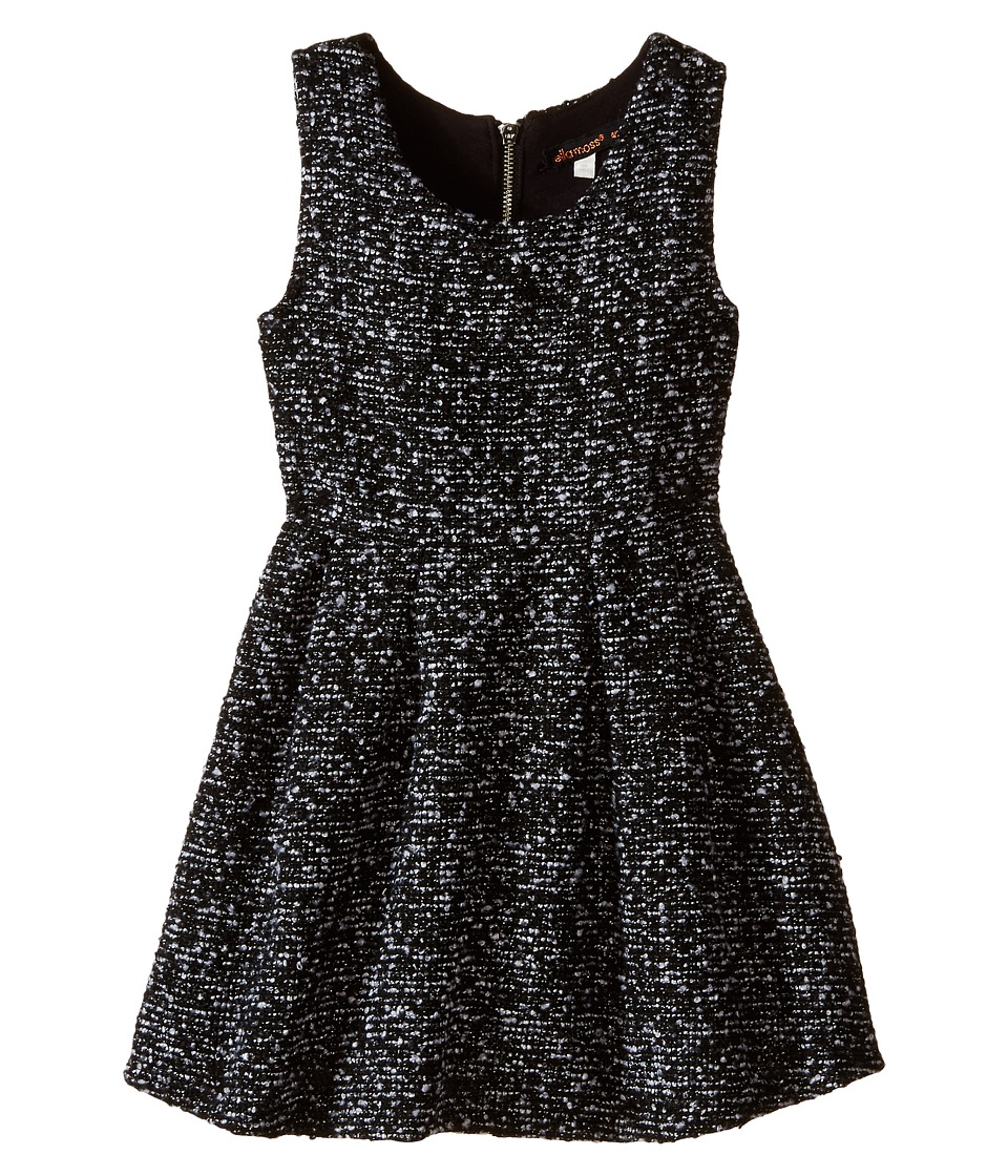 Ella Moss Girl - Lori Dress (Little Kids) (Black) Girl's Dress