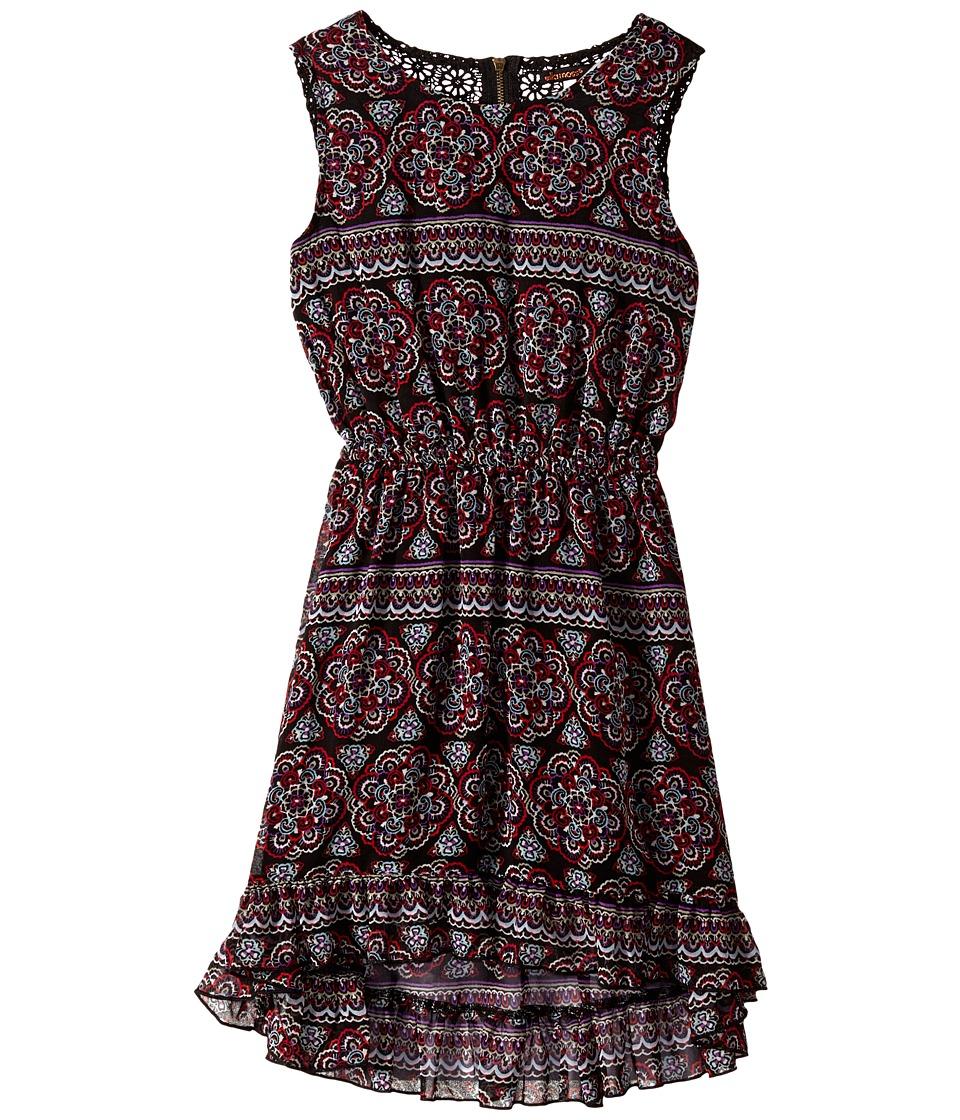 Ella Moss Girl - Charlie Dress (Big Kids) (Print) Girl's Dress