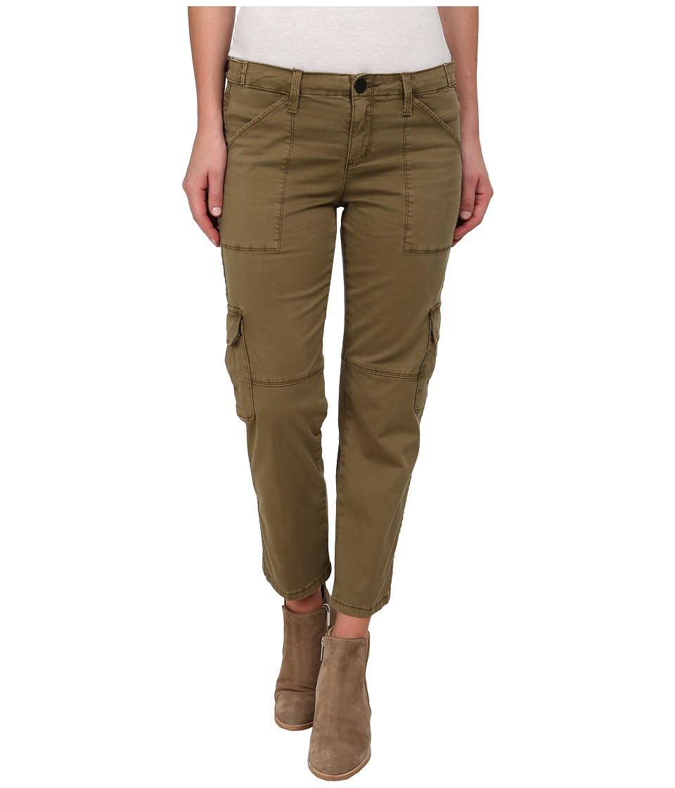 Sanctuary - Fall Nature Crop Pants (Country Green) Women's Casual Pants
