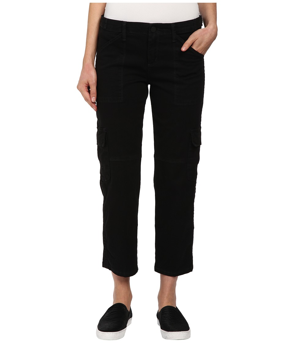 Sanctuary - Fall Nature Crop Pants (Black) Women's Casual Pants