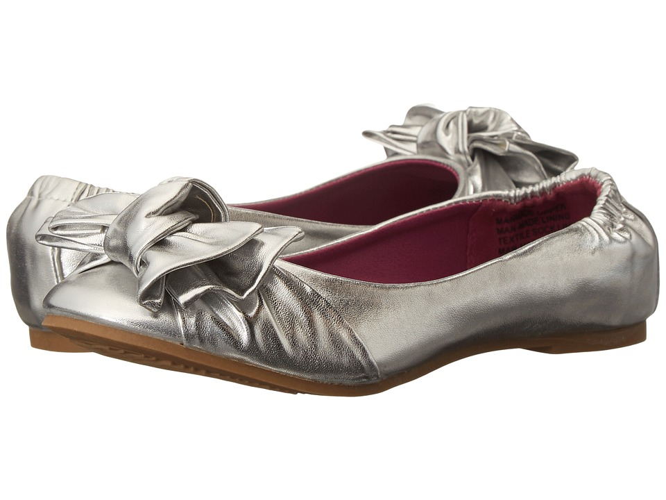 Steve Madden Kids - Jlovey (Little Kid/Big Kid) (Silver Metallic) Girl