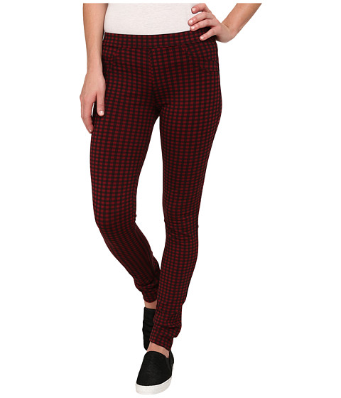 Sanctuary - Grease Leggings (Terracotta/Black Check) Women