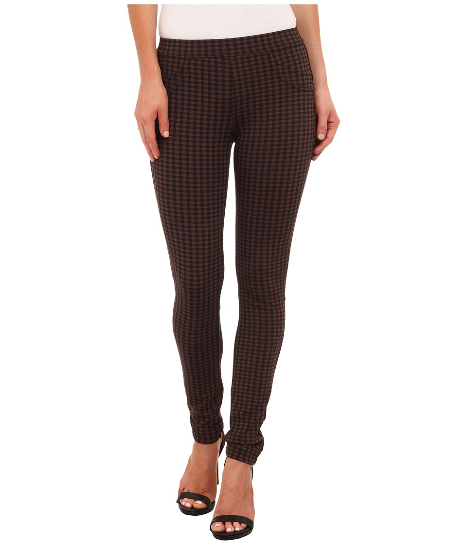 Sanctuary - Grease Leggings (Maple Check) Women's Casual Pants