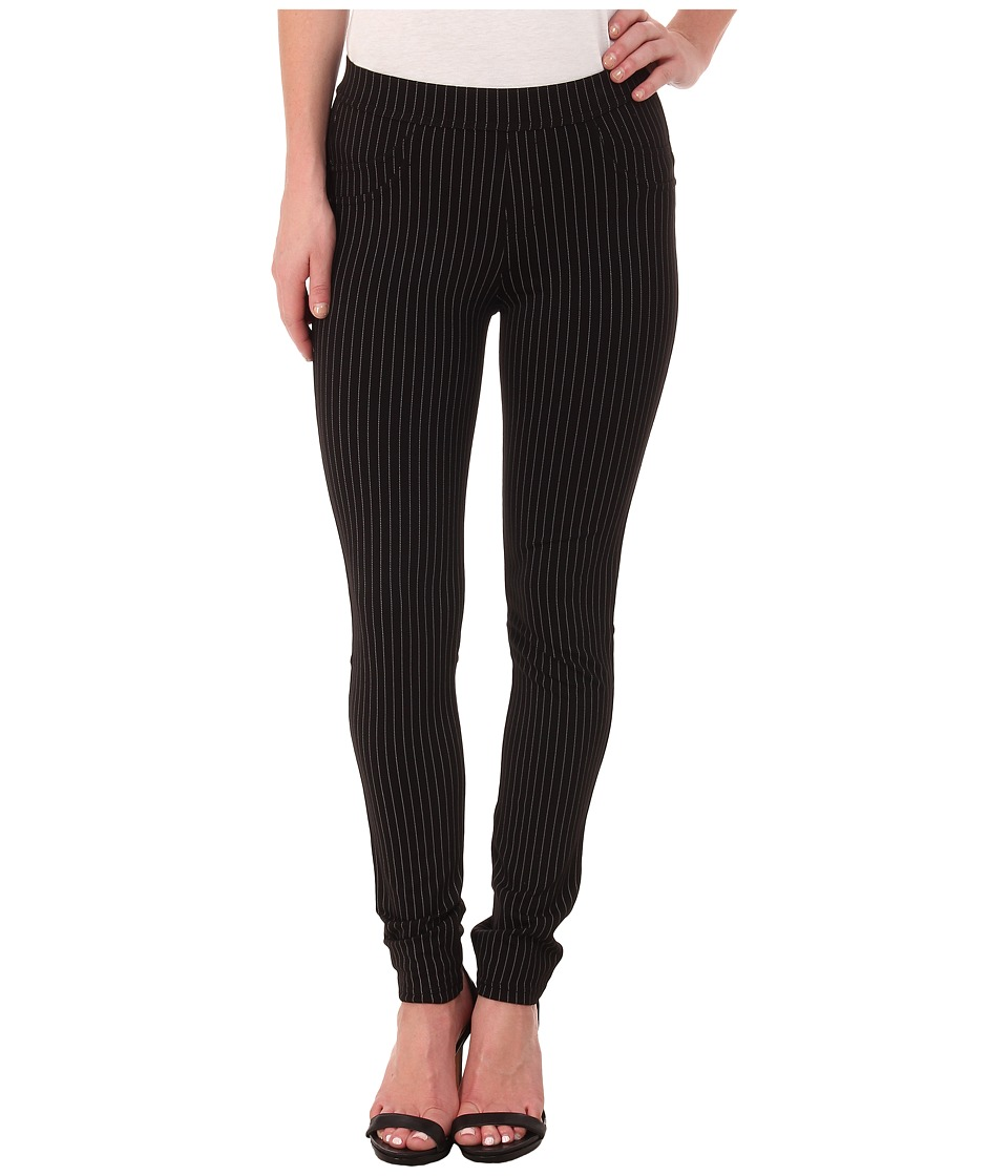Sanctuary - Grease Leggings (Gangster Stripe Grey/Black) Women