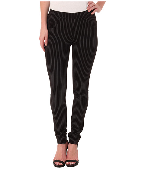 Sanctuary - Grease Leggings (Gangster Stripe Grey/Black) Women's Casual Pants
