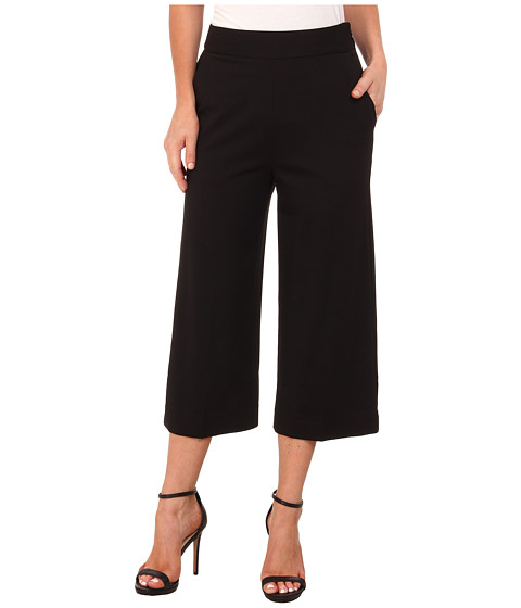 Sanctuary - Ponte Culotte (Black) Women's Clothing
