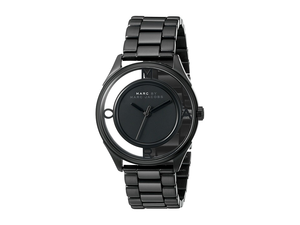 Marc by Marc Jacobs - MBM3415 - Tether (Black) Analog Watches