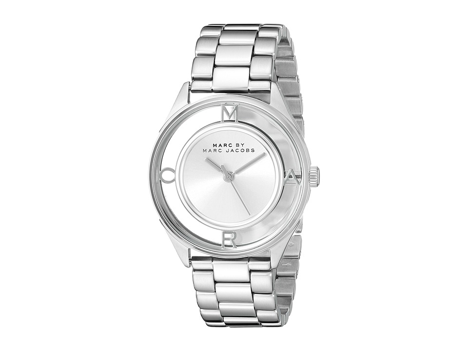 Marc by Marc Jacobs - MBM3412 - Tether (Silver) Analog Watches
