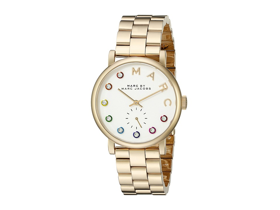 Marc by Marc Jacobs - MBM3440 - Baker (Gold/White) Watches