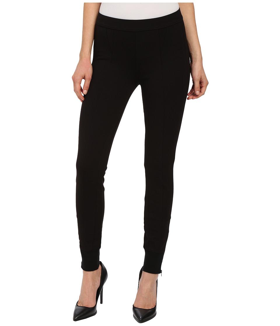 Sanctuary - Zip Jogger Leggings (Black) Women's Casual Pants