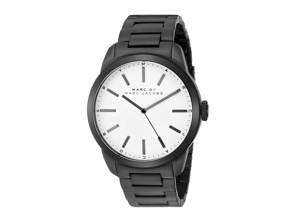 Marc by Marc Jacobs - MBM5089 - Dillon (Black/White) Analog Watches