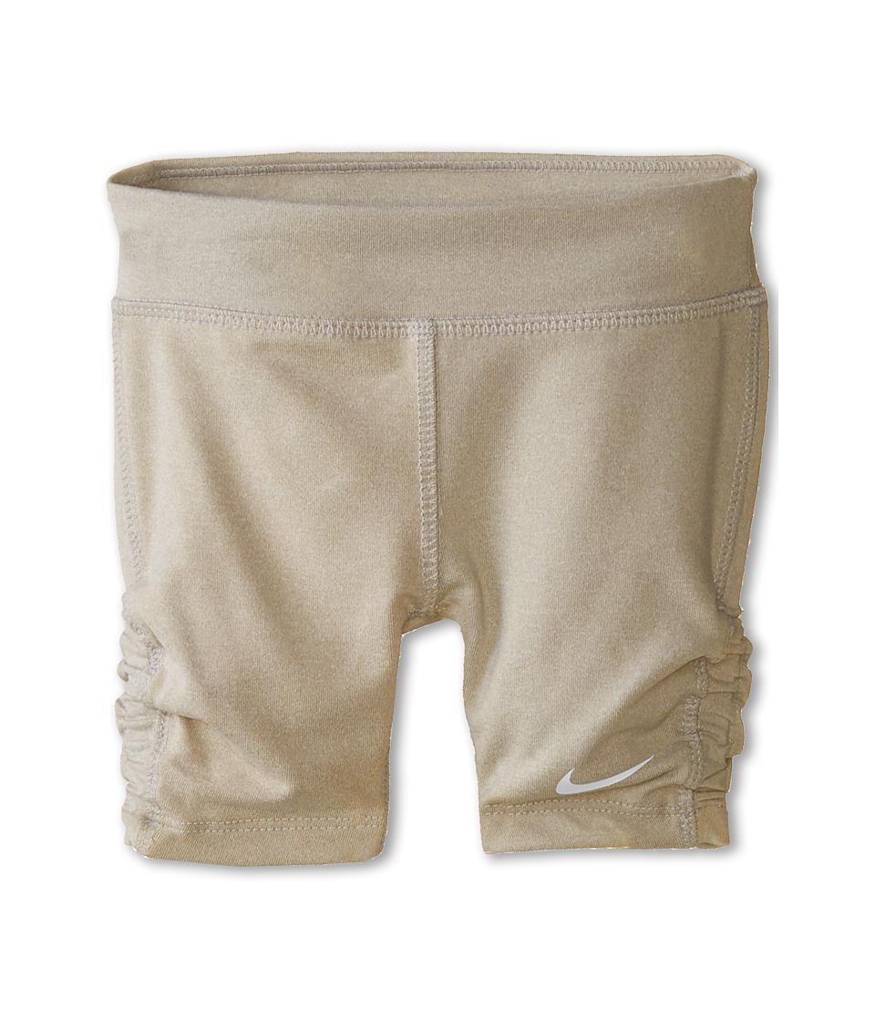 Nike Kids - Dri-Fit Sports Essentials Biker Shorts (Toddler) (Grey Heather) Girl's Shorts
