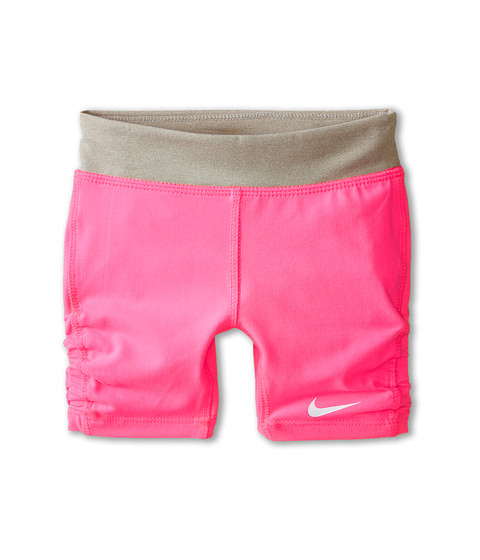 Nike Kids - Dri-Fit Sports Essentials Biker Shorts (Little Kids) (Pink Pow) Girl