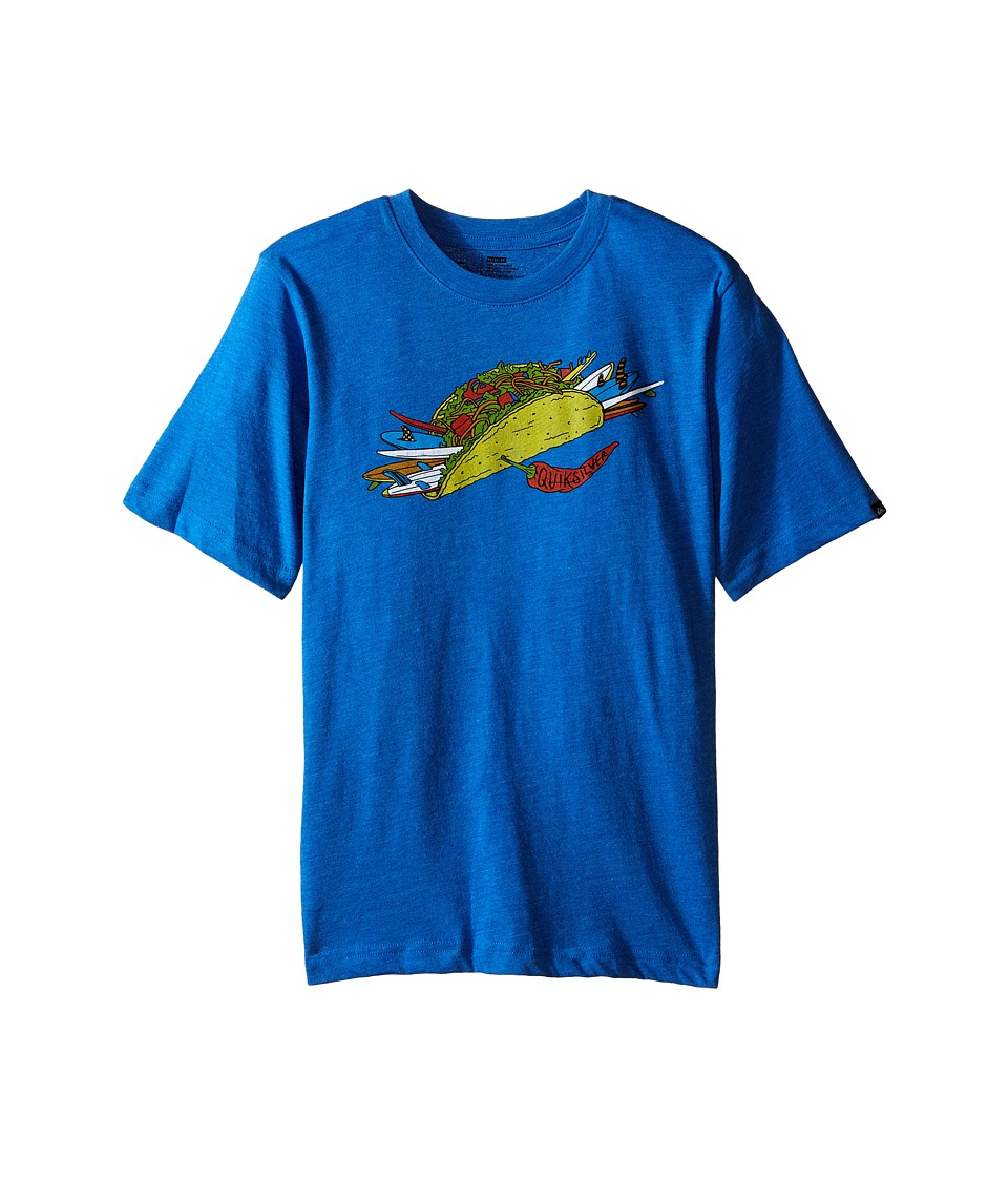 Quiksilver Kids - Taco T-Shirt (Big Kids) (Victoria Blue Heather) Boy's T Shirt