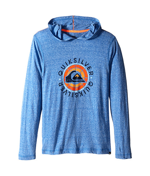 Quiksilver Kids - Hit It Hoodie (Big Kids) (Victoria Blue Heather) Boy