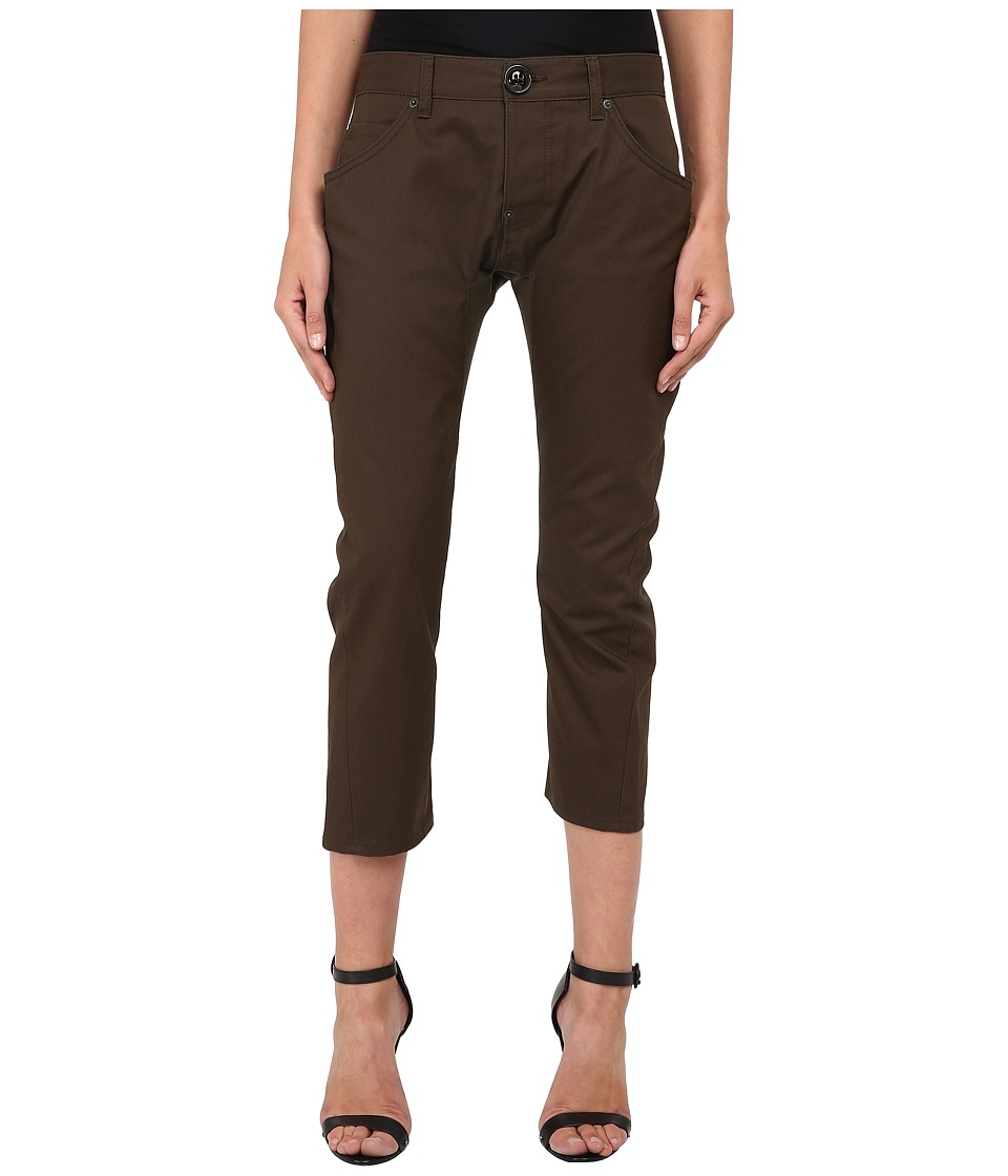DSQUARED2 - Icon Anniversary Chino Pants (Green) Women's Casual Pants