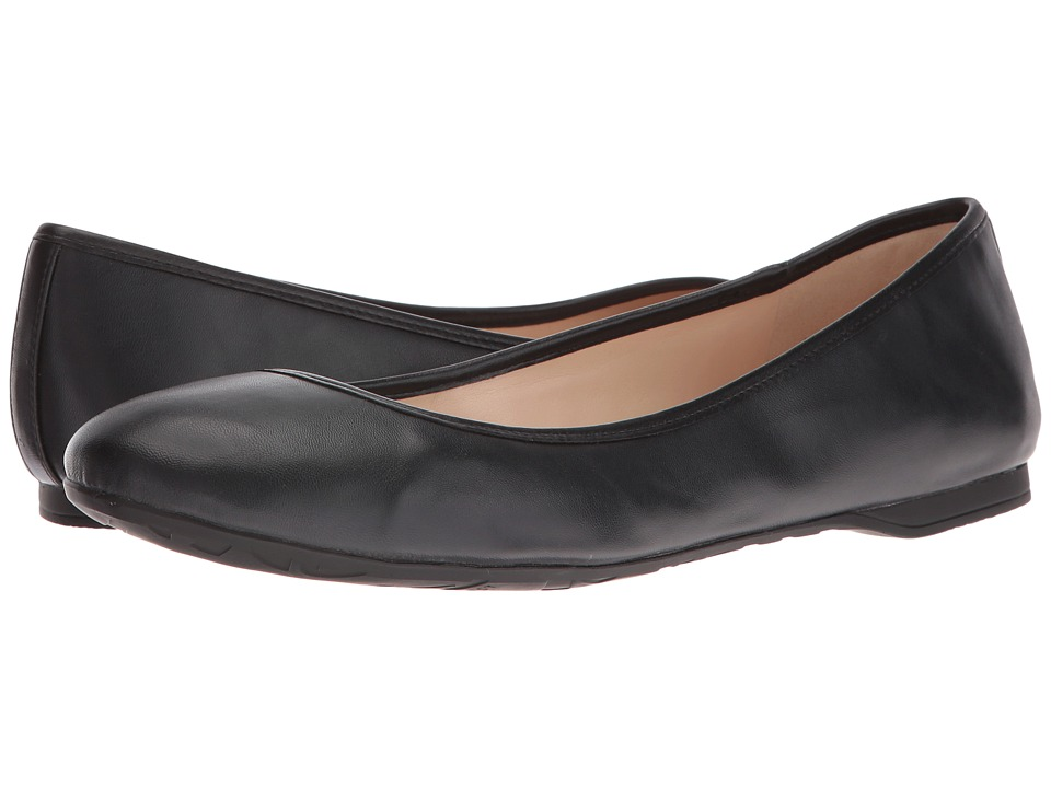 Nine West - Fedra (Black Patent Synthetic) Women's Flat Shoes