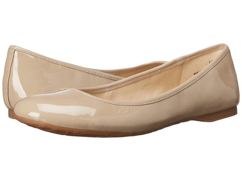 Nine West - Fedra (Taupe Patent Synthetic) Women's Flat Shoes