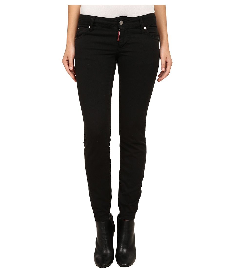 DSQUARED2 - Twiggy Jeans (Black) Women's Jeans