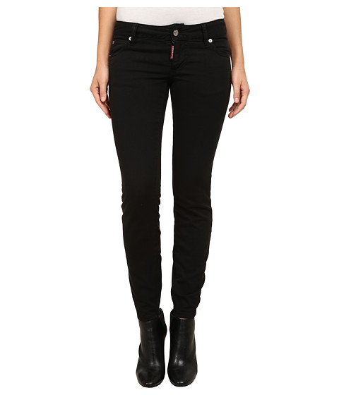 DSQUARED2 - Twiggy Jeans (Black) Women
