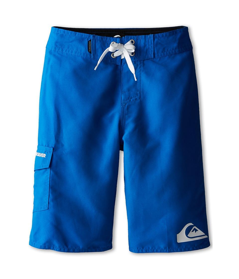 Quiksilver Kids - Everyday Trunk (Big Kids) (Victoria Blue) Boy's Swimwear