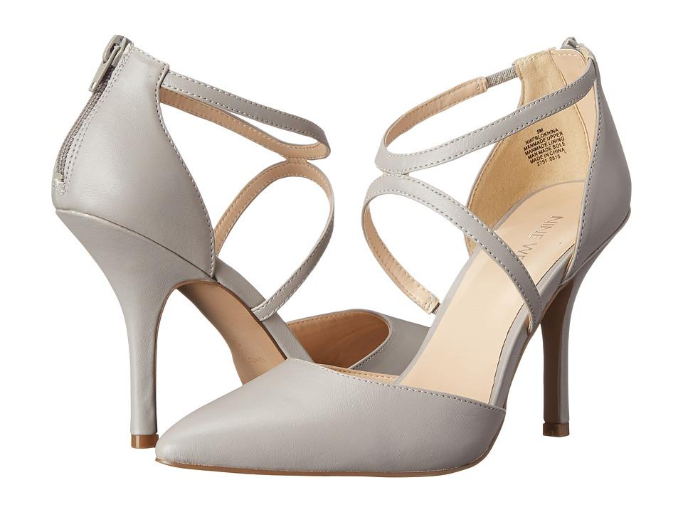Nine West Blonkhina Light Grey Synthetic High Heels