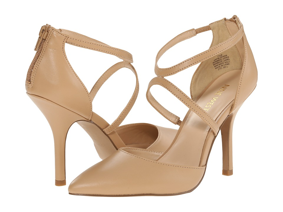 Nine West - Blonkhina (Light Natural Synthetic) High Heels