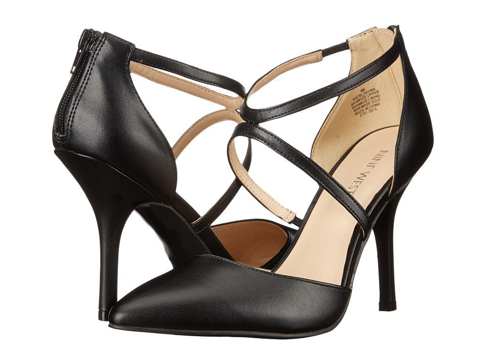 Nine West - Blonkhina (Black Synthetic) High Heels
