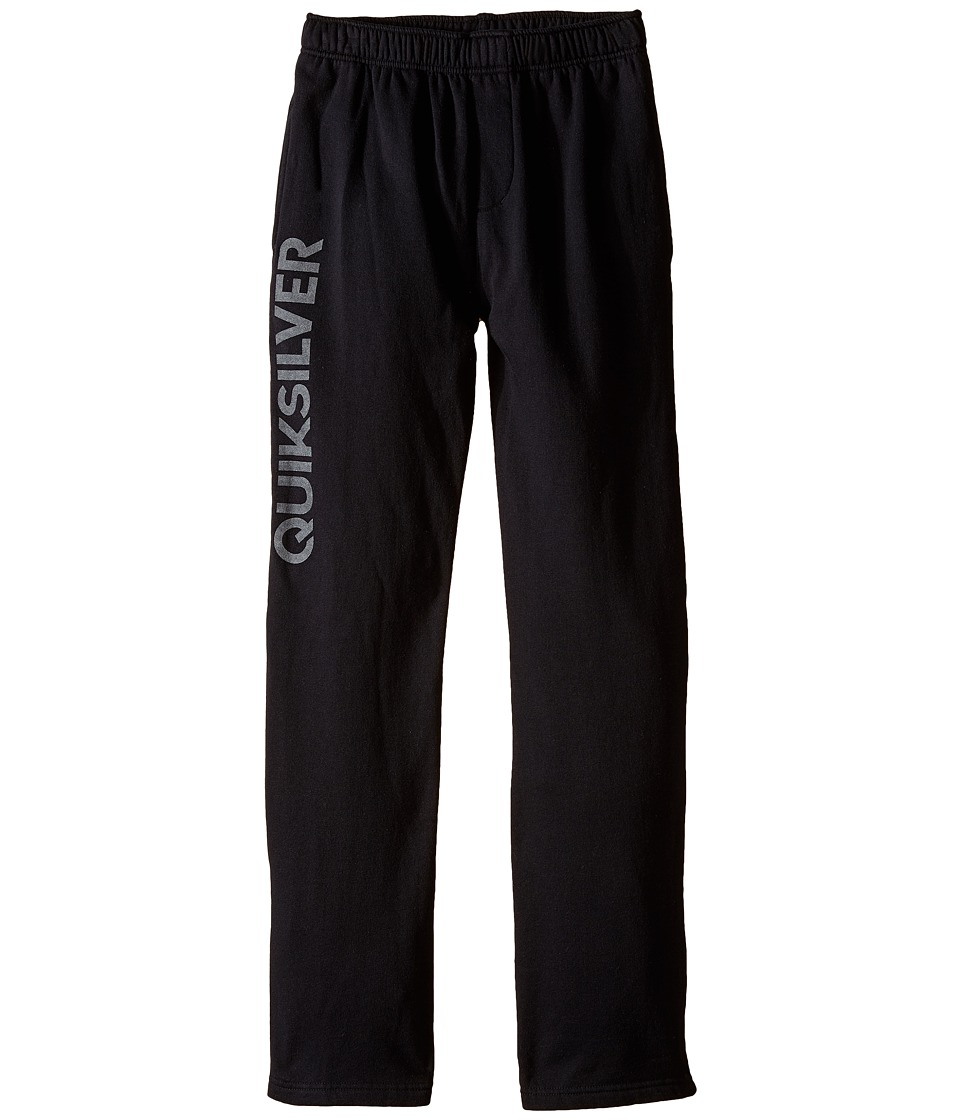 Quiksilver Kids - Everyday Track Pants (Big Kids) (Black) Boy's Casual Pants
