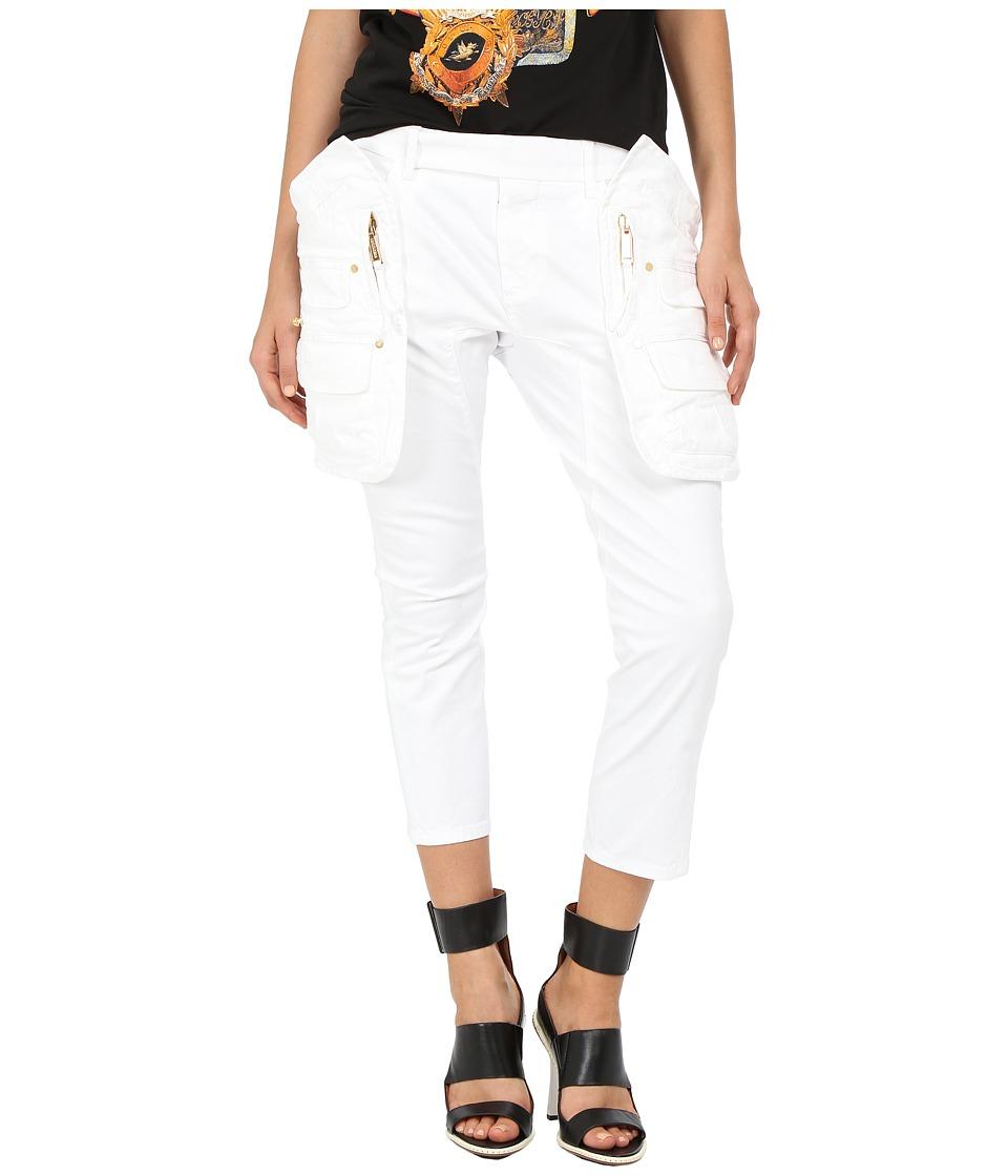 DSQUARED2 - Joye Pants (White) Women's Casual Pants