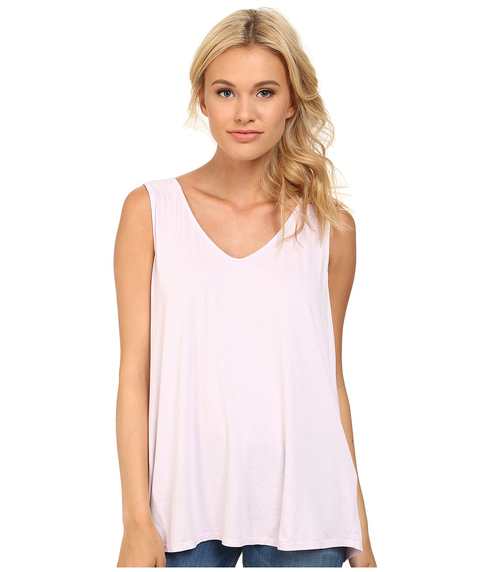 Three Dots - Fit Flare Sleeveless Top (Pink Spritz) Women's Sleeveless
