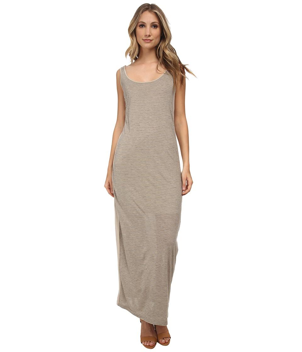 Three Dots Column Dress (Caribbean Sand) Women