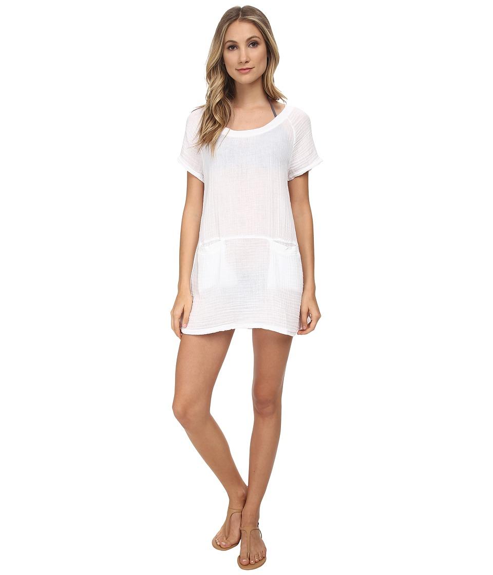 Three Dots - Tunic/Cover-Up (White) Women's Swimwear