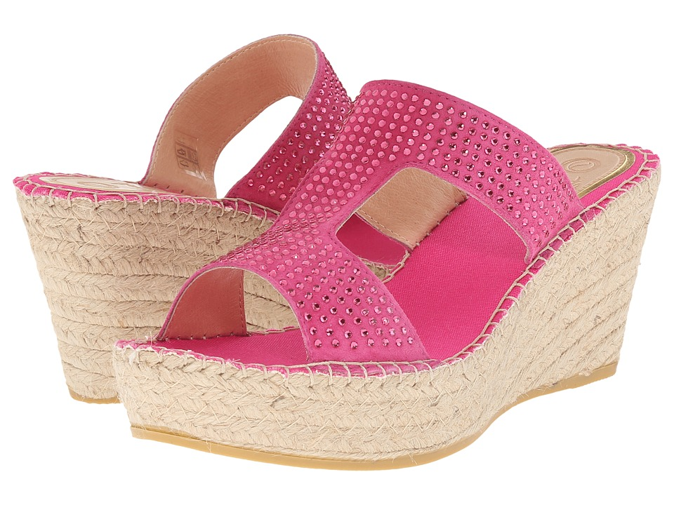 Vidorreta - Lisa (Fuchsia) Women's Wedge Shoes