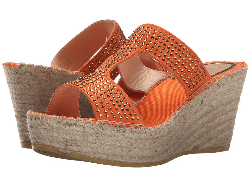 Vidorreta - Lisa (Orange) Women's Wedge Shoes
