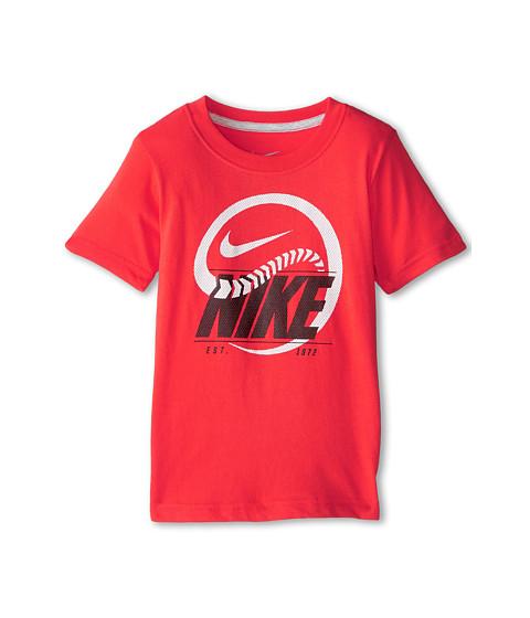 Nike Kids - Snake Baseball Tee (Little Kids) (Daring Red) Boy's T Shirt