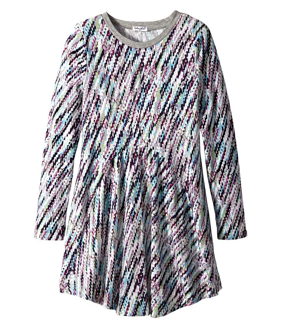 Splendid Littles - Tinsel Dress (Big Kids) (Print) Girl's Dress