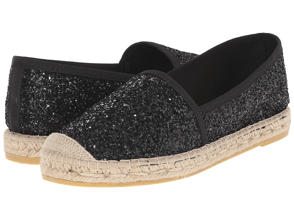 Vidorreta - Lux (Black Glitter) Women's Slip on Shoes
