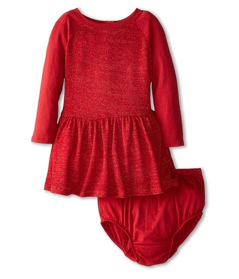 Splendid Littles - Loose Knit Dress (Infant) (Red) Girl