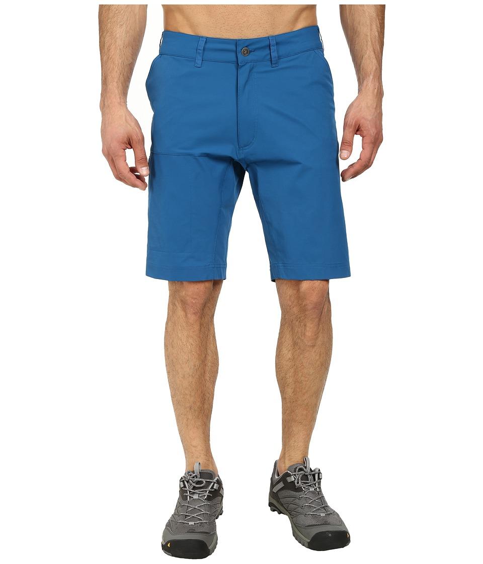 Fjallraven - Abisko Lite Shorts (Lake Blue) Men's Shorts