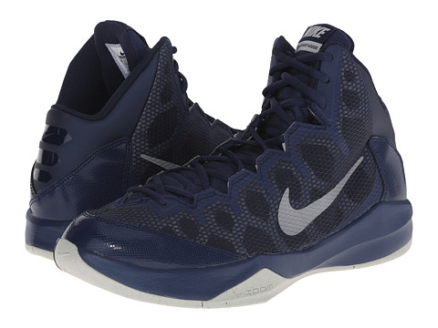 Nike - Zoom Without A Doubt (Midnight Navy/Obsidian/Night Silver/Metallic Silver) Men