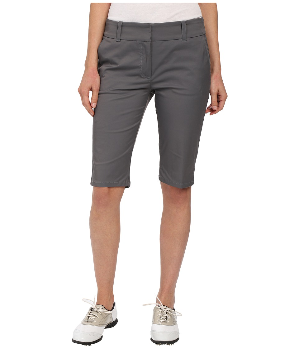 LIJA - Shotgun Knee Shorts (Charcoal) Women's Shorts