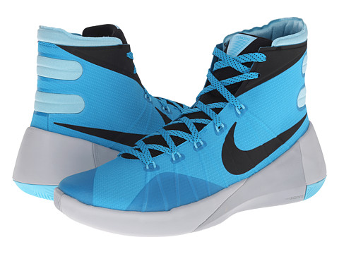 Nike - Hyperdunk 2015 (Blue Lagoon/Pure Platinum/Wolf Grey/Black) Men's Basketball Shoes