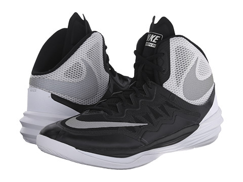 Nike - Prime Hype DF II (Black/White/FLT Silver/Reflect Silver) Men's Basketball Shoes