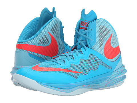 Nike - Prime Hype DF II (Blue Lagoon/Tide Pool Blue/Ice Cube Blue/Bright Crimson) Men