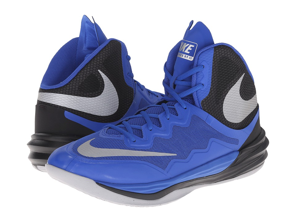 Nike - Prime Hype DF II (Game Royal/Black/Wolf Grey/Reflect Silver) Men's Basketball Shoes