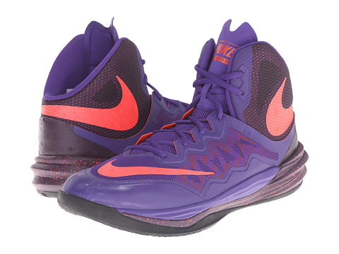 Nike - Prime Hype DF II (Court Purple/Noble Purple/Black/Bright Crimson) Men