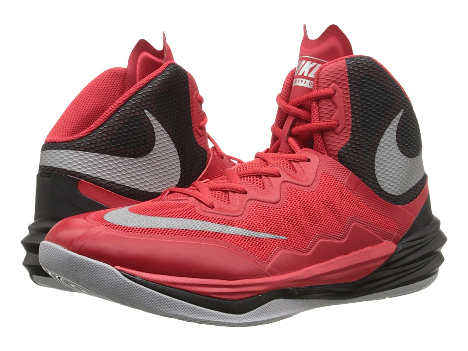 Nike - Prime Hype DF II (University Red/Black/Wolf Grey/Reflect Silver) Men's Basketball Shoes