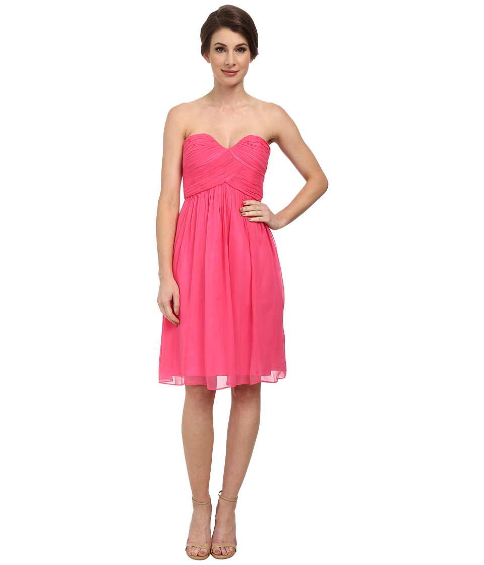 Donna Morgan - Morgan Strapless (Strawberry) Women's Dress
