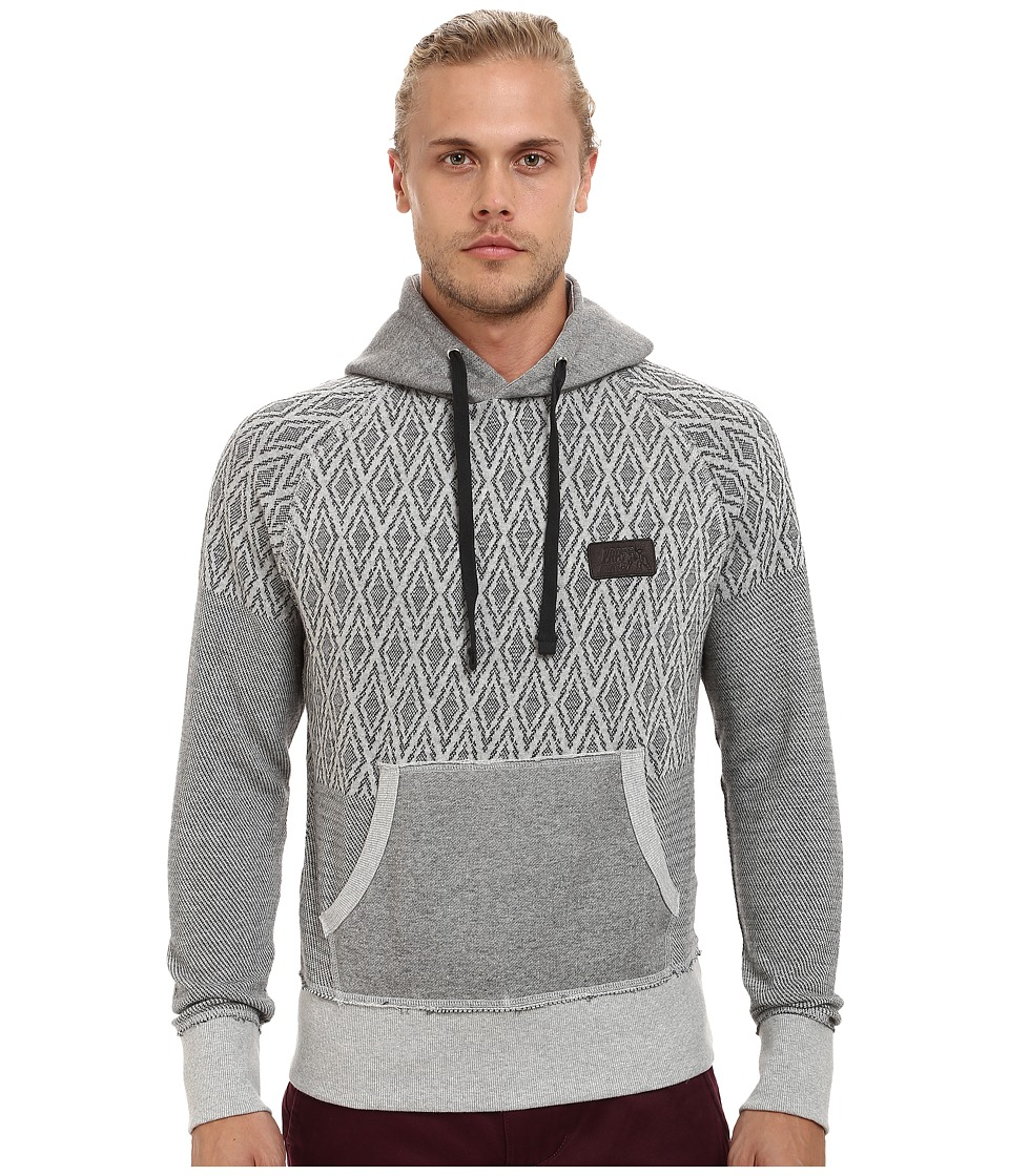 Prps Goods & Co - Cygnus Hoodie (Grey) Men's Sweatshirt